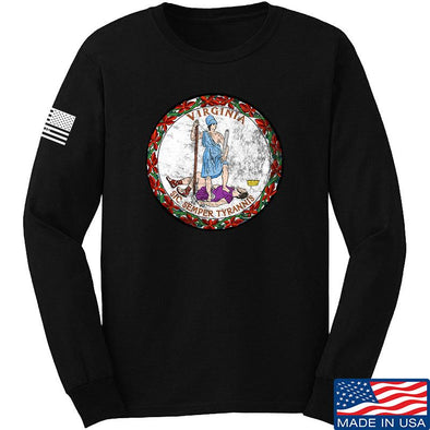 Virginia State Seal Long Sleeve T-Shirt