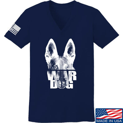 Ladies War Dog V-Neck