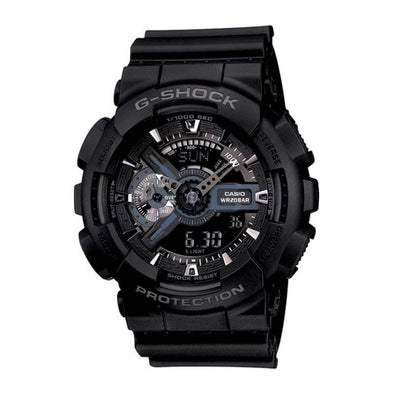 Casio G-Shock XL Ana-Digi Watch — GA110-1B — Black