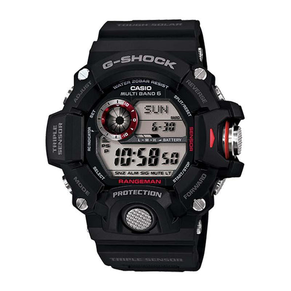 Casio G-Shock Rangeman Watch — GW9400-1 — Black