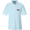 IV8888 IV8888 Logo Polo Polos Small / Crystal Blue by Ballistic Ink - Made in America USA