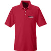 IV8888 IV8888 Logo Polo Polos Small / Red by Ballistic Ink - Made in America USA