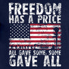 IV8888 Freedom Has a Price T-Shirt T-Shirts [variant_title] by Ballistic Ink - Made in America USA