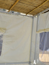 7½ft Simple All White Sukkah without Schach (4'x6')