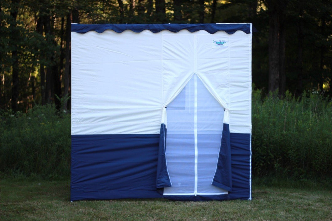 8ft Royal Sukkah with Schach (12'x20')