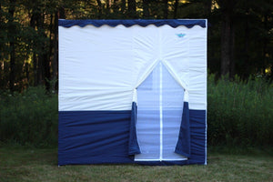 8ft Royal Sukkah with Schach (5'x7')
