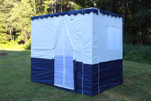 8ft Royal Sukkah with Schach (4'x6')