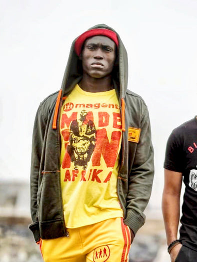 'Made In Afrika' Men's Printed T-Shirt