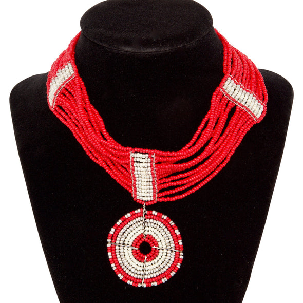 Maua Ring Choker Necklace