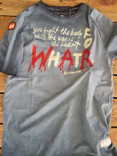 'What For?' Printed T-Shirt