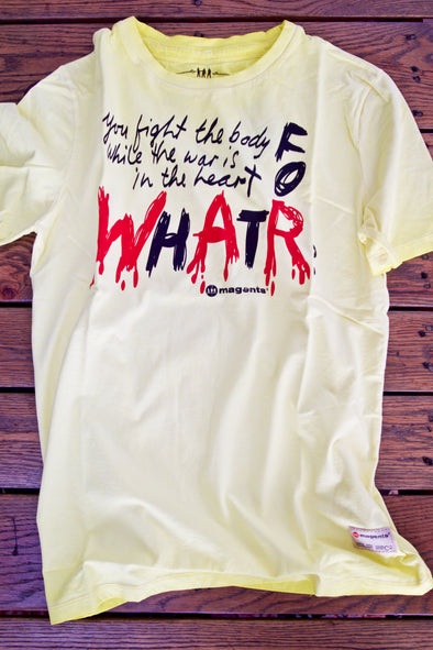 'What For?' Men's Printed T-Shirt
