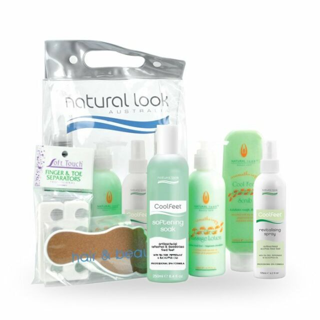 Natural Look Cool Feet Pedicure Retail Gift Pack