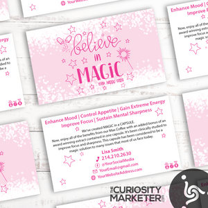 Believe In Magic Business Card