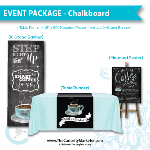 Event Package #1 - Chalkboard