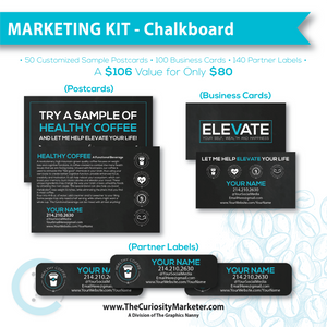 Marketing Kit #4 - Chalkboard
