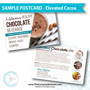PERSONALIZED Sample Postcard - Elevated Cocoa