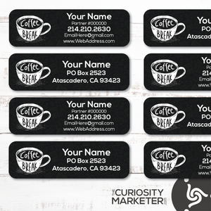 Coffee Break Labels