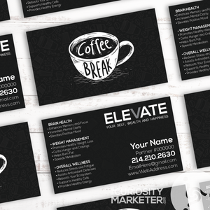 Coffee Break Business Card