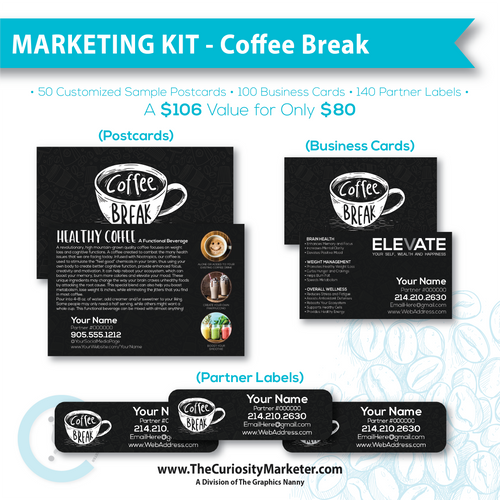Marketing Kit #2 - Coffee Break