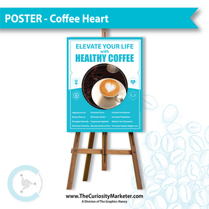 Poster - Coffee Heart