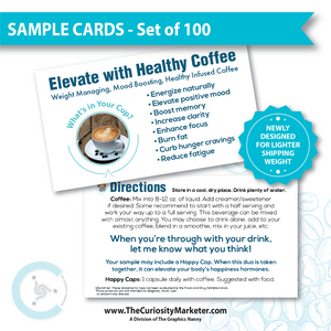 GENERIC - Healthy Coffee Sample Cards