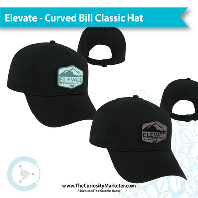 Elevate Your Coffee CLASSIC Hat - CURVED Bill