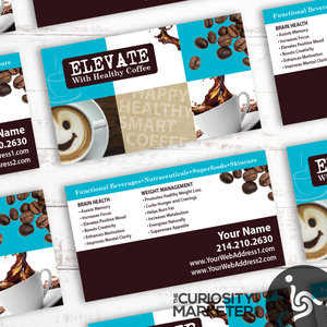 Elevated Collage Business Card