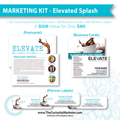 Marketing Kit - Elevated Splash
