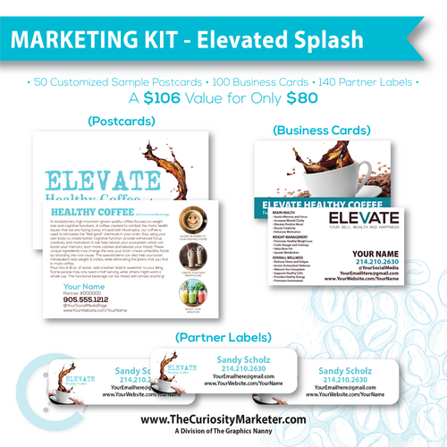 Marketing Kit #3 - Elevated Splash