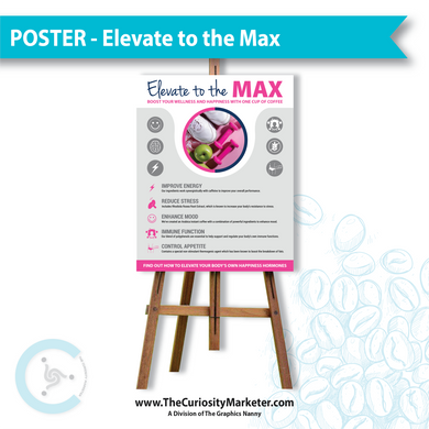 Poster - Elevate to the Max