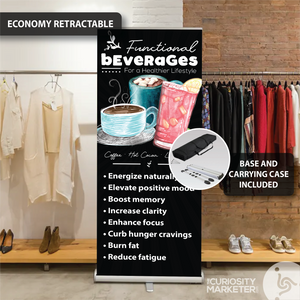 Vertical Banner - Functional Beverages