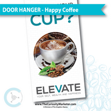 Door Hanger - Healthy Coffee - PERSONALIZED