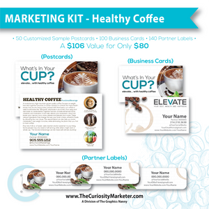 Marketing Kit #1 - Healthy Coffee