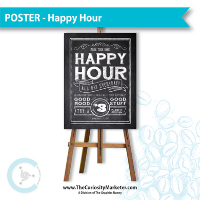 Poster - Happy Hour
