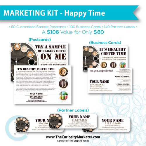 Marketing Kit #5 - Happy Time