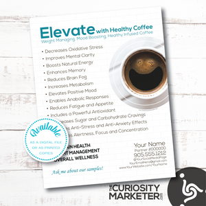 Flyer - Healthy Coffee