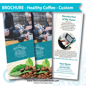 PERSONALIZED - Healthy Coffee Brochure