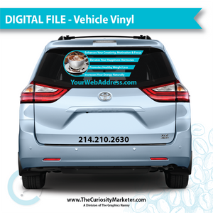Vehicle Vinyl - Healthy Coffee - Digital File