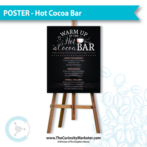 Poster - Hot Cocoa Bar