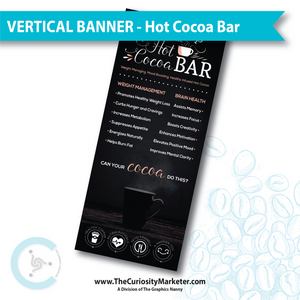 Vertical Banner - Hot Cocoa Bar