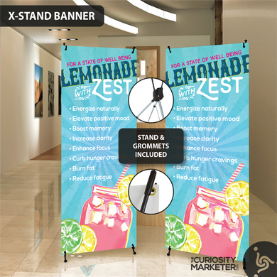 Vertical Banner - Lemonade