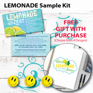 Lemonade Sample Kit - Gift with Purchase