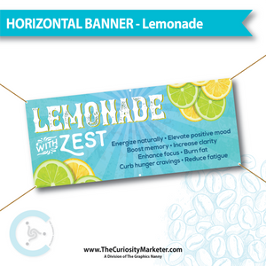 Horizontal Banner - Lemonade