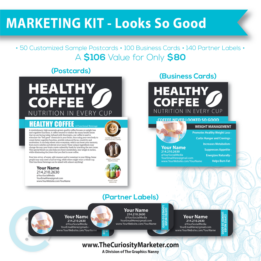 Marketing Kit - Looks So Good