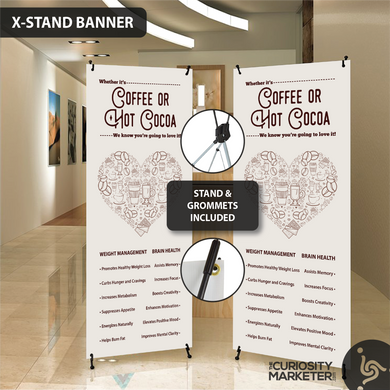 Vertical Banner - Love My Brew