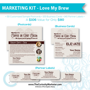Marketing Kit - Love My Brew