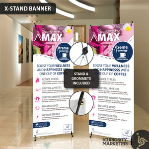 Vertical Banner - Elevate to the Max