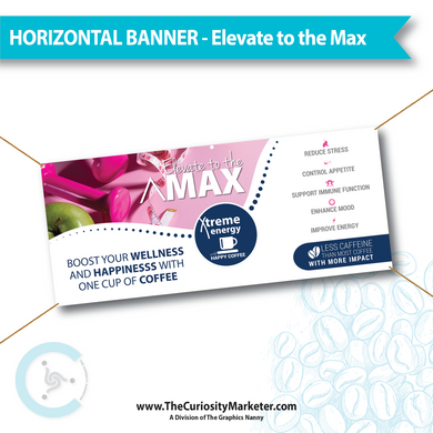 Horizontal Banner - Elevate to the Max