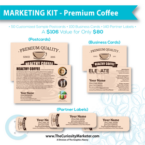 Marketing Kit - Premium Coffee