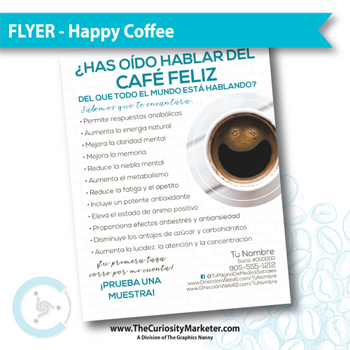 Flyer - Healthy Coffee - Spanish Translation